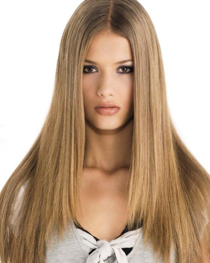2 Стрижка лесенка на средние волосы с челкой и без, 21 фото