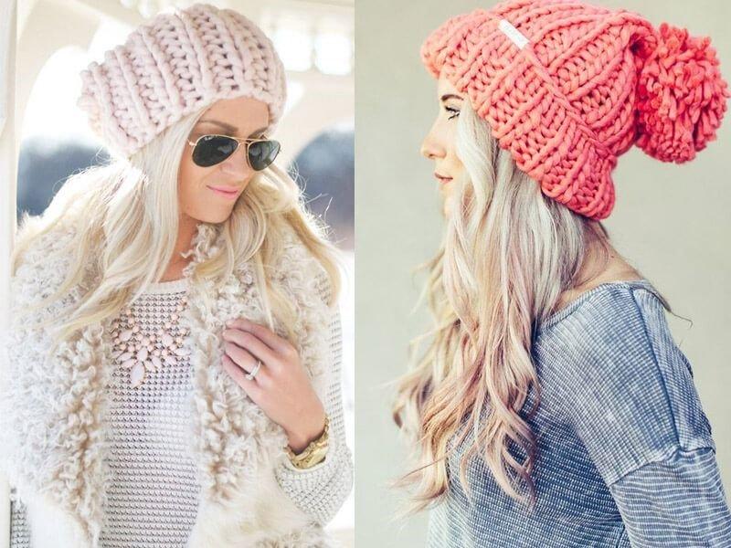Картинки по запросу модные вязаные шапки 2019