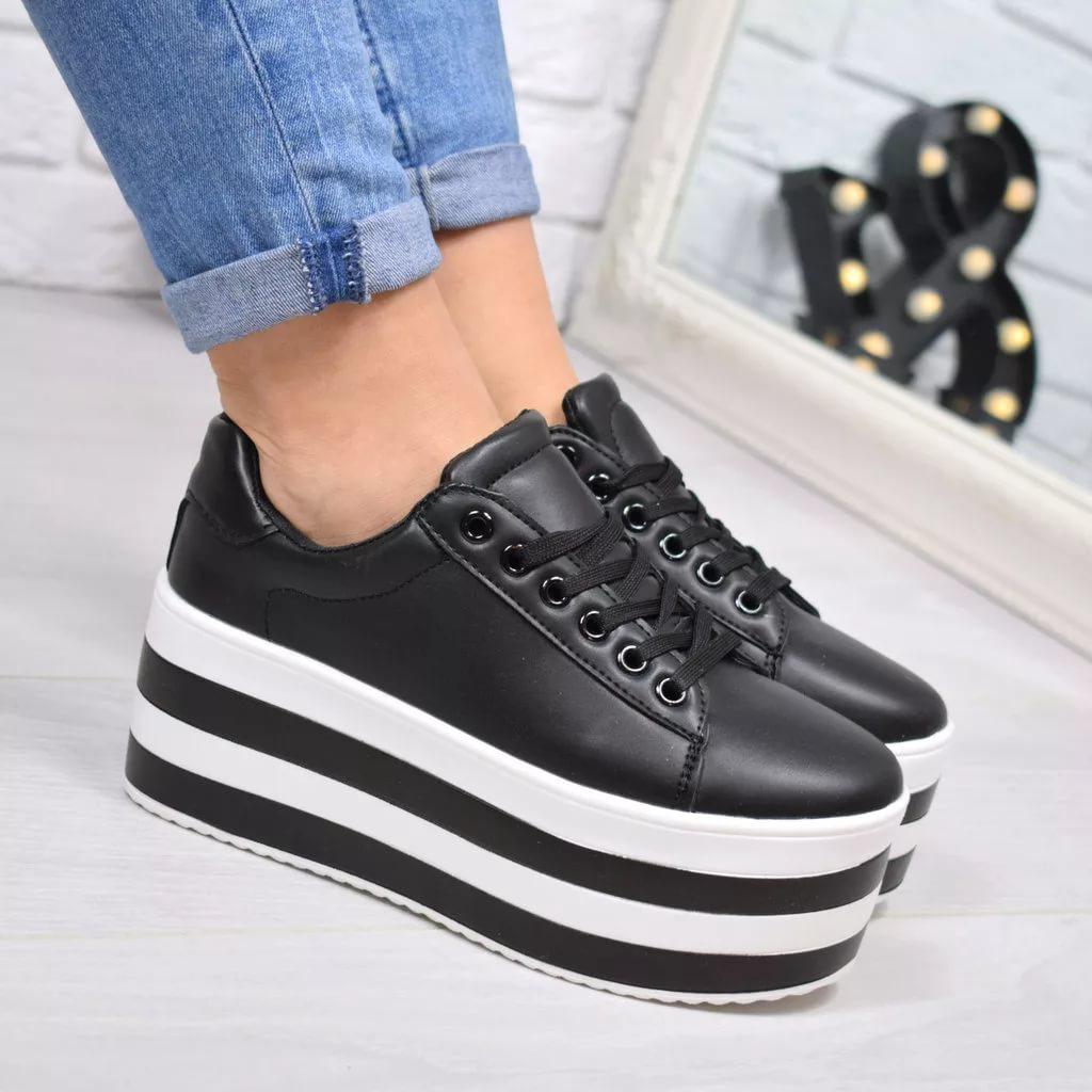 29f832496 На пике популярности – кроссовки на платформе. Они отлично вписываются в  любой гардероб, добавляют стройности и несколько лишних сантиметров роста,  ...