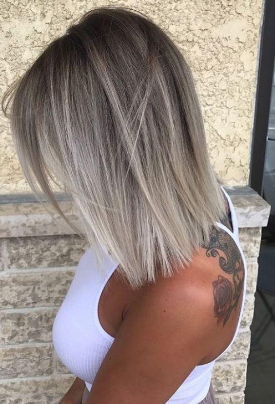 Модные стрижки для тонких волос