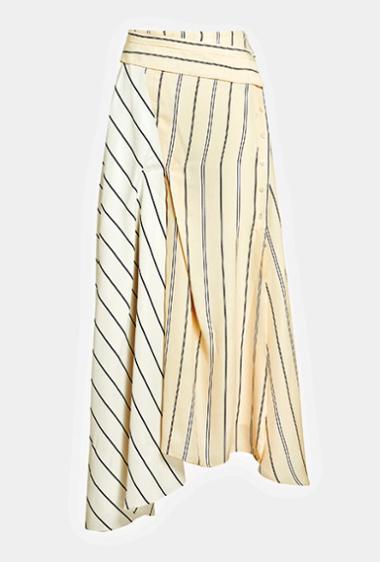Стильная юбка с асимметрией