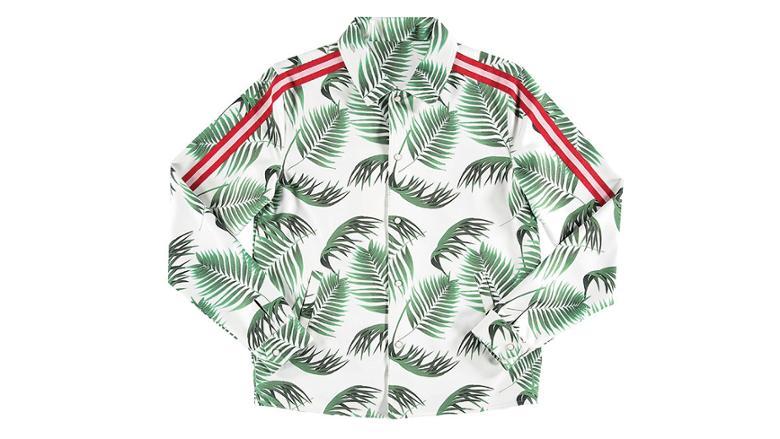 Стильная рубашка с растительным принтом
