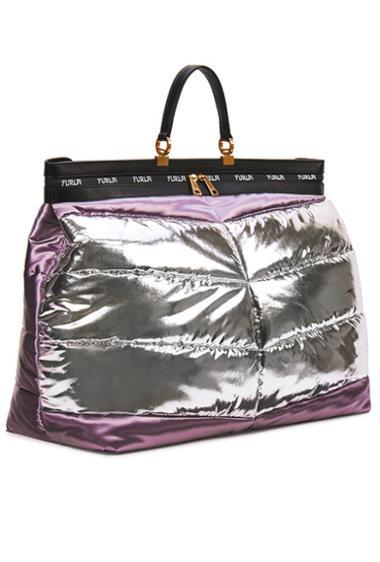 Оригинальная блестящая сумка
