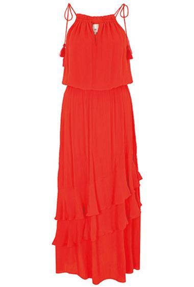 Привлекательное алое платье River Island