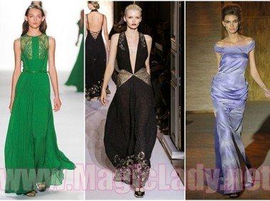 cac1b83eb31 Модные вечерние платья весна-лето 2012