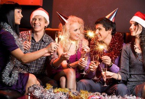 Новогодние развлечения студентовсекс