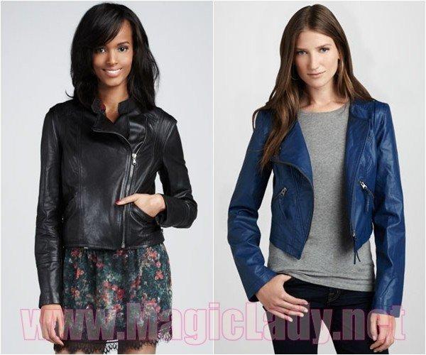 b378ce2326f6 Модные кожаные куртки осень-зима 2012-2013, 50 фото | Женский журнал ...