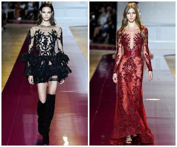 042d9c341e3 Модные вечерние платья осень-зима 2016-2017