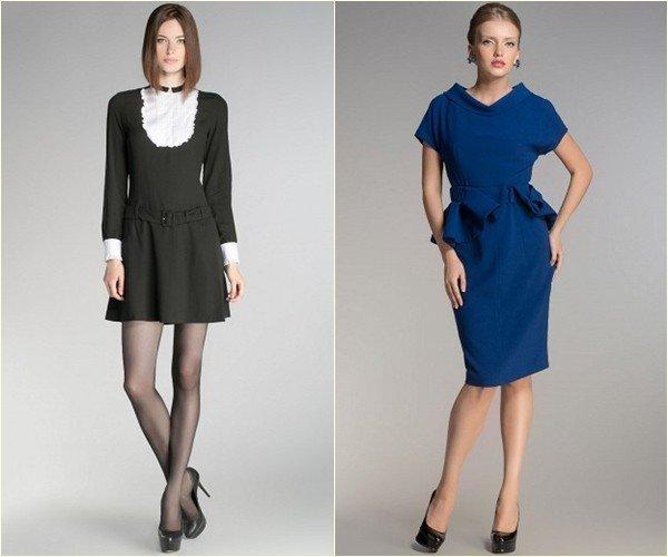 c25b62396b43 Módní neformální šaty podzim-zimní 2013-2014