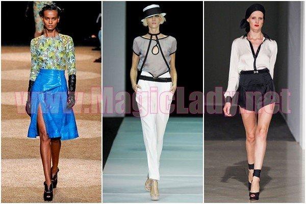 8e4442eef6d В этой статье предлагаем вашему вниманию фотографии самых модных и стильных блузок  весны-лета 2012