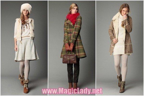 754089c67ef8 V kolekci šatů podzim-zimní 2011-2012 francouzské značky Promod odráží  všechny nejmódnější trendy této sezóny. V něm najdete teplé zimní vesty z  kůže