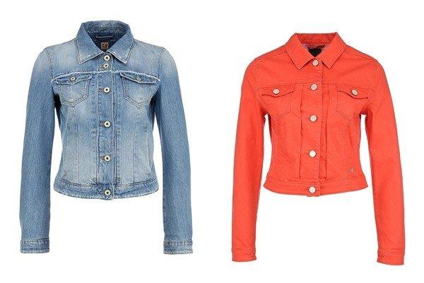 3ed13a0597 Nyáron a farmer kabát a lányok kedvenc dolgainak egyik vezető pozícióját  foglalja el. A denim kabát stílusos és divatos megjelenést tesz lehetővé,  ...