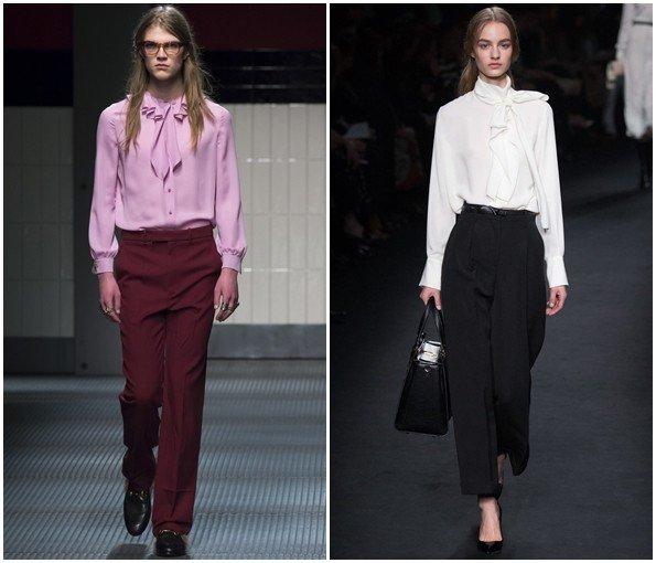 3e3832c254b Модные блузки осень-зима 2015-2016