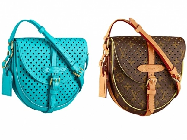 В курортной коллекции сумочек Louis Vuitton 2012 года вы увидите гламурные,  яркие сумочки и клатчи приятных весенних расцветок. 592119361c5
